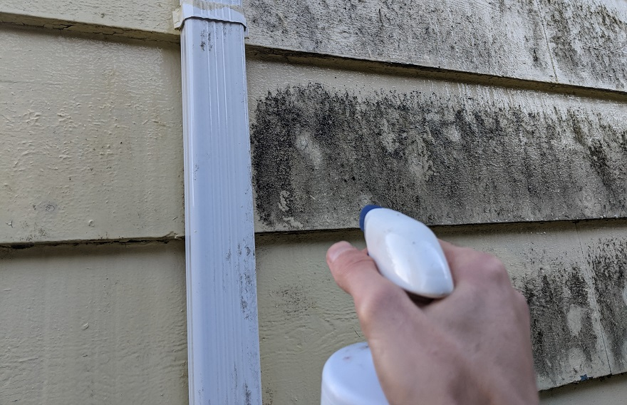 how to clean exterior walls