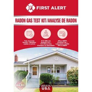 first alert home radon test kit