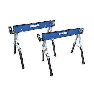 kobalt adjustable sawhorses