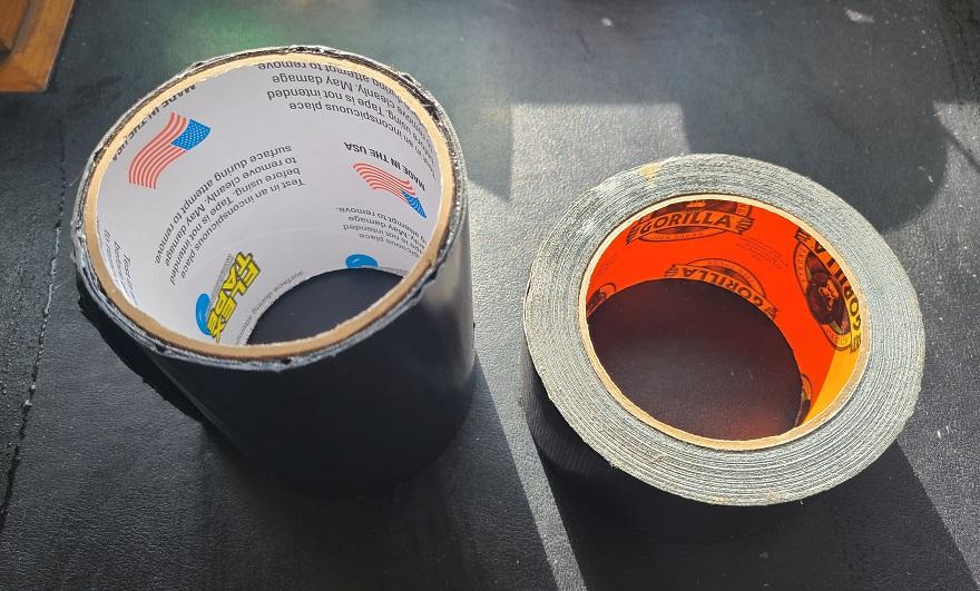 flex tape and gorilla tape
